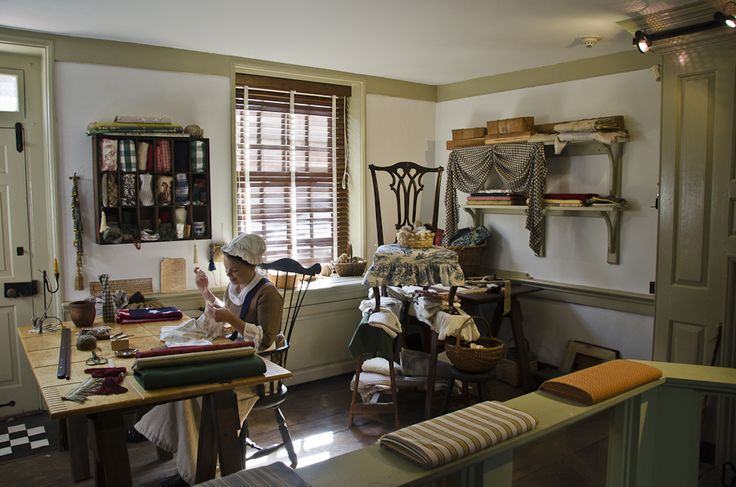 inside betsy ross house - Google Search | Historic Places ...