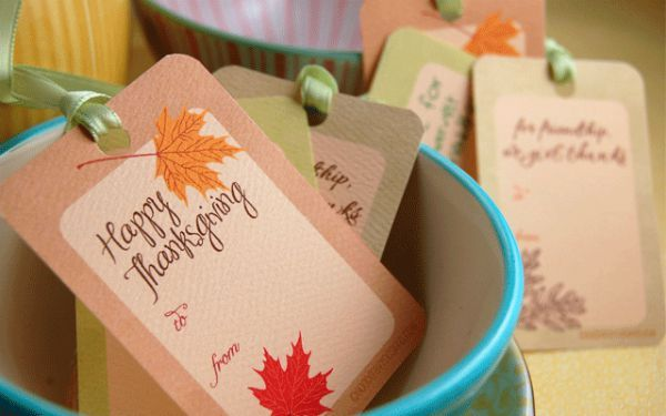free Thanksgiving gift tags plus 31 other FREE Thanksgiving printable-s on Frugal Coupon Living.