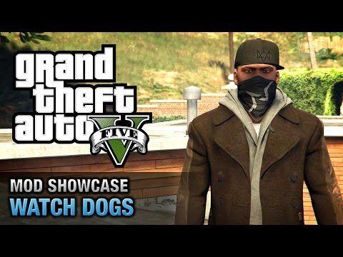 GTA 5 PC - Franklin Pearce \ Watch Dogs [Mod Showcase] - YouTube