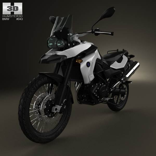Bmw F800gs 2008 3d Model From Humster3d Com Price 75 Bmw 3d