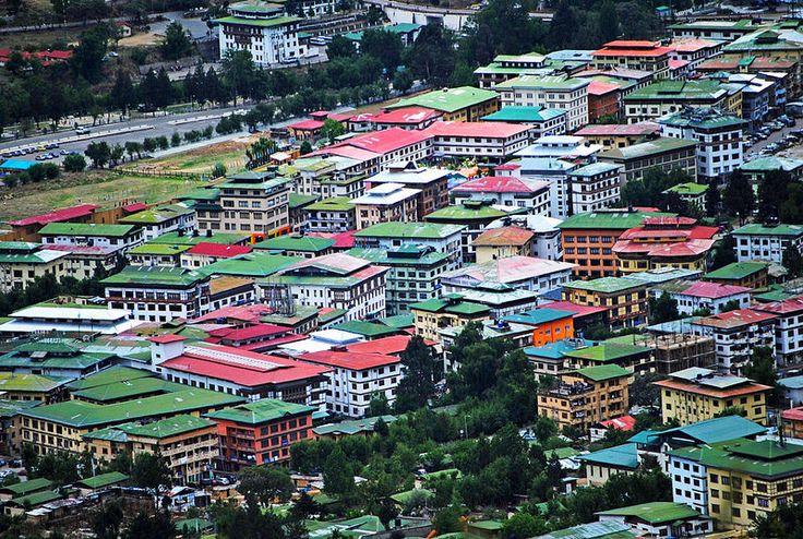 A Colorful Small Town - Thimphu, Bhutan
