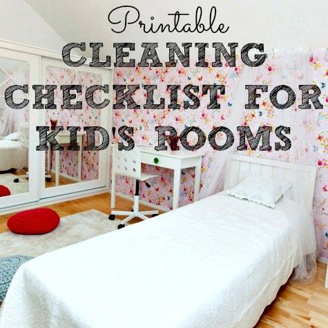 Free Printable Cleaning Checklist For Kids Rooms. 25  best ideas about Cleaning Kids Rooms on Pinterest   Ikea kids