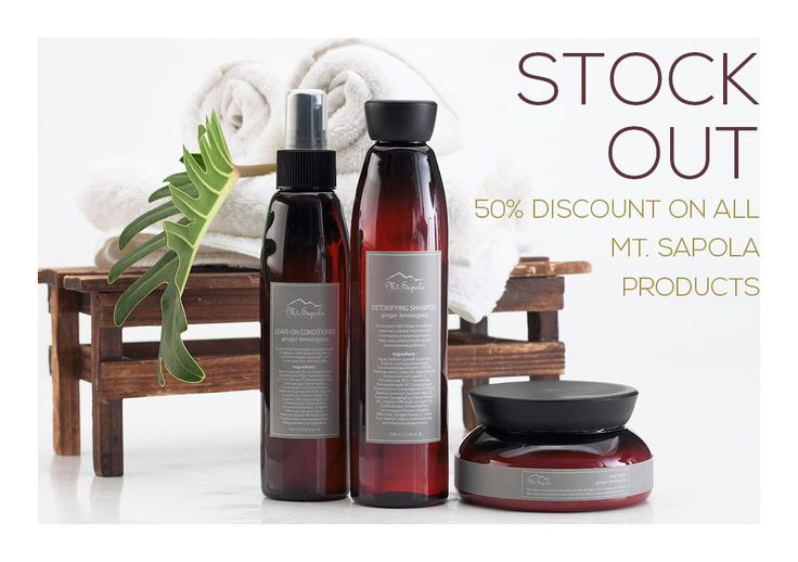 Don't miss the opportunity to get quality products from Mt. Sapola, they are naturally made using plant extracts and essential oils,the ingredients are uniquely formulated to nourish the body and the senses.