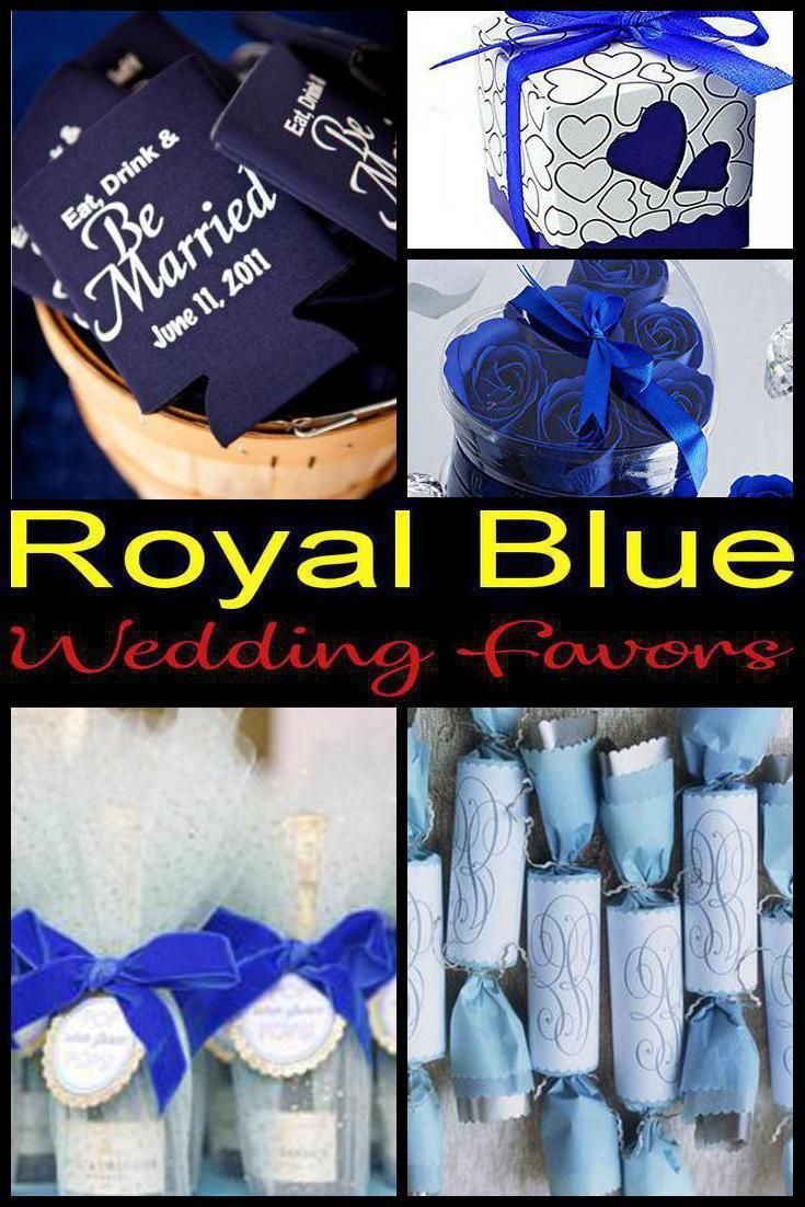 10 Royal Blue Wedding Favor Ideas For Your Guests Fun And Easy Royal Blue Wedding Favor Ideas You Royal Blue Wedding Favors Blue Wedding Favors Wedding Favors