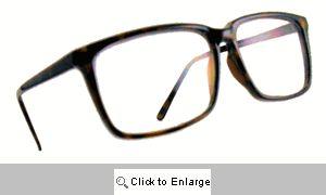 Techno Genius Square Reading Glasses - 415 Tortoise