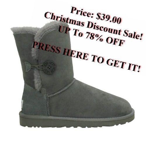UGG Bailey Button 5803 Boots Grey