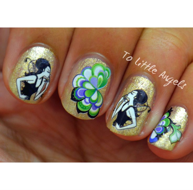 23 best Paznokcie images on Pinterest | Floral nail art, Flower nail ...