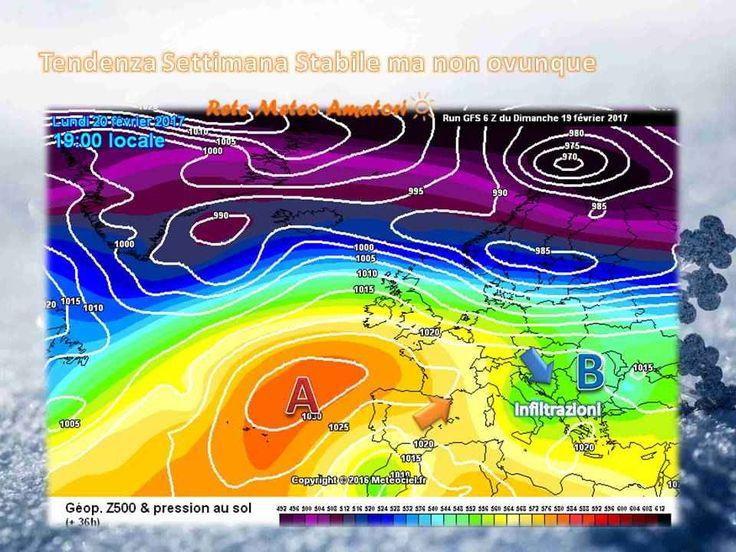Anticiclone in rimonta ma ancora qualche infiltrazione Nei giorni scorsi avevamo pubblicato un post riguardante la tendenza termica riguardante il grafico a spaghetti o Ensembles, dove le varie simulazioni indicavano la possibilità di un netto aumento te #meteo #settimana #italia #primavera