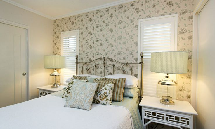 Using the clients treasured, home made cushions as the starting point, we created this romantic, feminine space.
