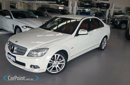 2008 Mercedes-Benz C200 Kompressor Avantgarde Auto Cars For Sale in WA - CarPoint Australia