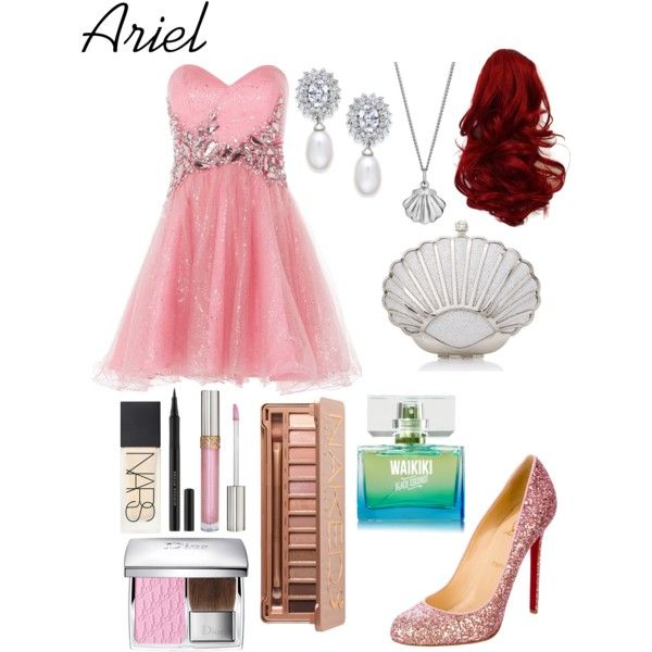 Disneybound Ariel! Made by enchantingfashions on the Polyvore app