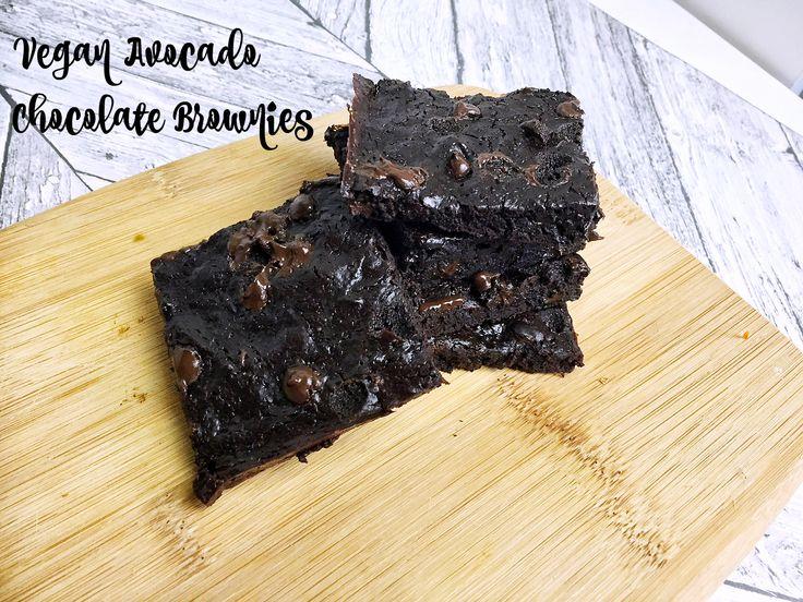 Vegan Avocado Brownies - Recipe Testing - Powered by @ultimaterecipe