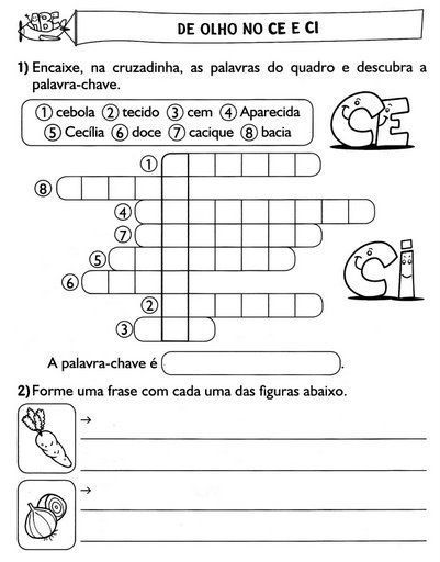 Blog Professor Zezinho : Atividades Para 2º Ano Alunos Nível Alfabético