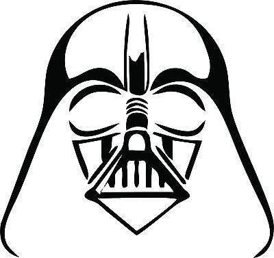 Details About Darth Vader Sticker Decal Star Wars