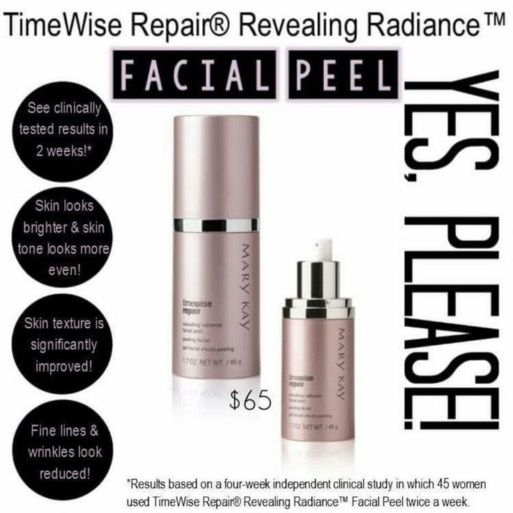 Mary Kay facial peel! Visit my website to order! www.marykay.com/sara.faris