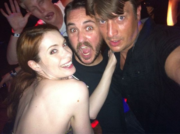 Felicia Day + Wil Wheaton + Nathan Fillion = Geek Squee Awesome!: Feliciaday, Nathanfillion, Geek Squee, Felicia Day, Beautiful People, Awesome Things, Nerdy Things, Nathan Fillion Photobomb, Wil Wheaton