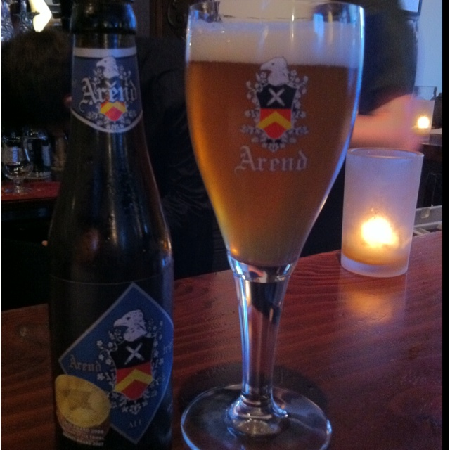 New Discovery at Monks Kettle in the Mission District in San Francisco. Arend Belgian Style Tripel. Excellent!