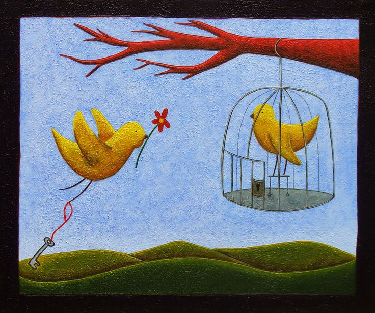 """La Huída"" - Daniel Ponce - Acrílico sobre tela - #acrylic #painting #art #illustration #trazosdesol #danielponce"