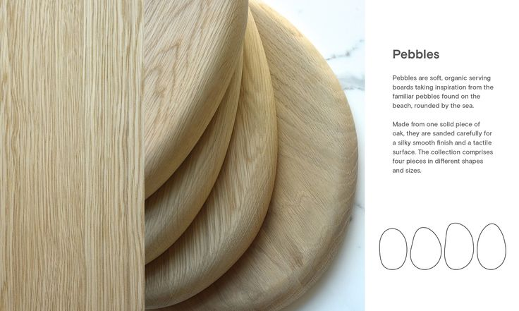 Pebbles. Design: Runa Klock.