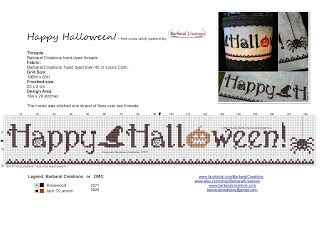 Barbaral Creations: Happy Halloween! - free pattern...