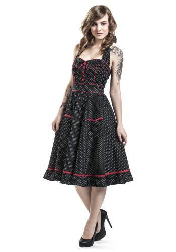 """Abito di media lunghezza """"Vanity Dress"""" del brand #HellBunny."""