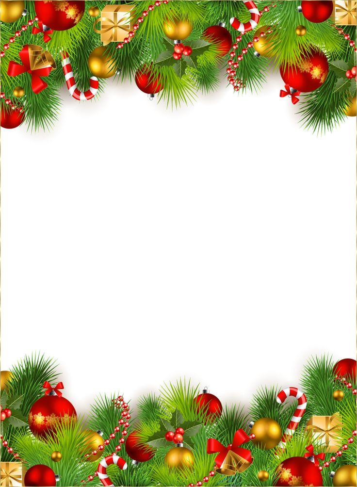Marco lindo de la navidad png fotos con los ornamentos de - Ornamentos de navidad ...