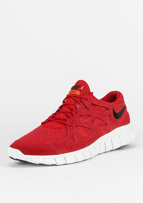 Nike Free Run 2 Dunkelrot