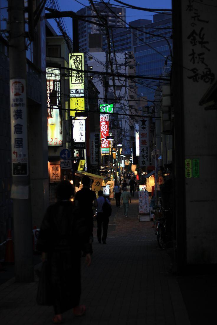 Tokyo street, Tokyo, night