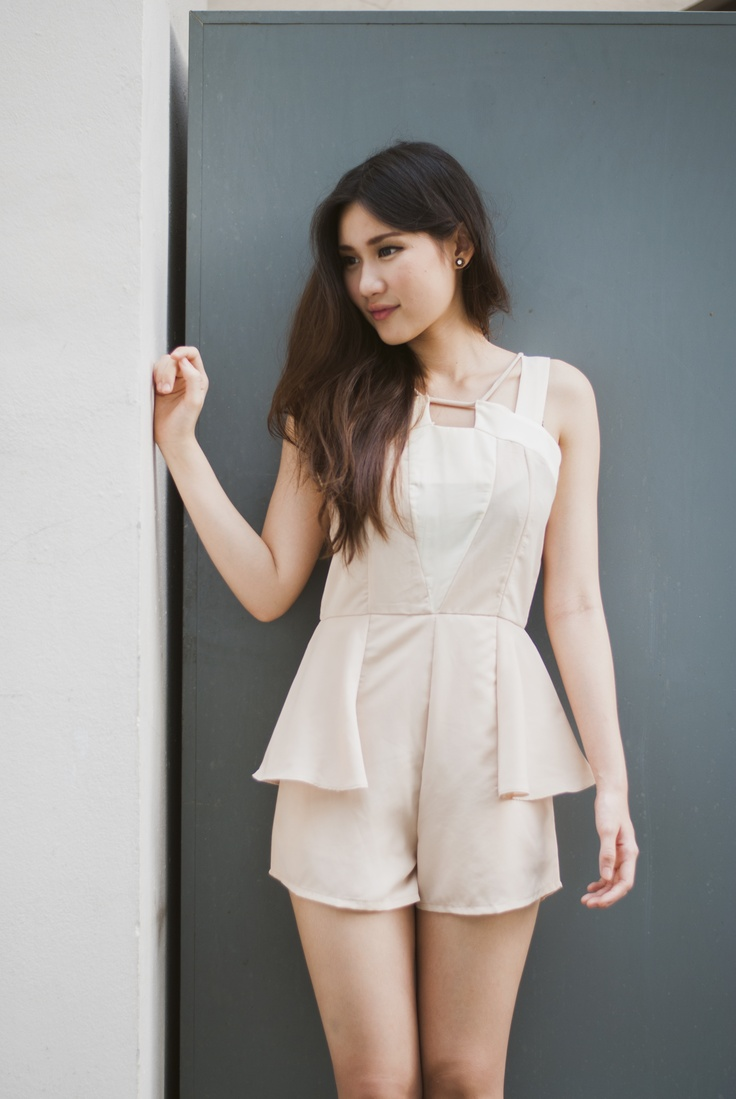 Lace Triangle Playsuit