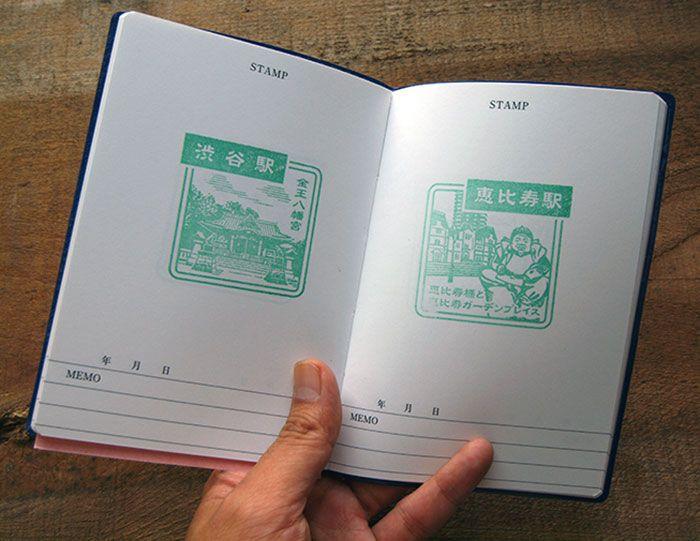 ¿Sabías que en Japón se tiene la costumbre de coleccionar estampas o sellos, que se encuentran en pequeños puestos por todo el país?