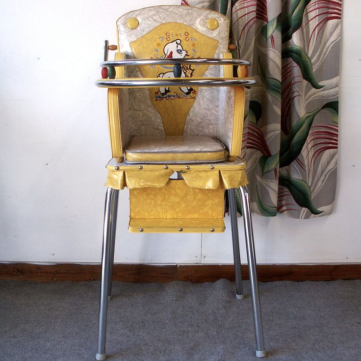 1950s Vintage High Chair: 10+ Handpicked Ideas To Discover