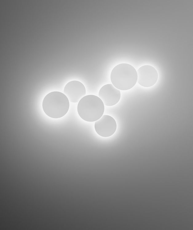 Lampa wewnętrzna, ścienna Vibia Puck Wall Art id: 30   Wszystkie Lampy wewnętrzne \ LAMPY ŚCIENNE Kolekcje \ VIBIA