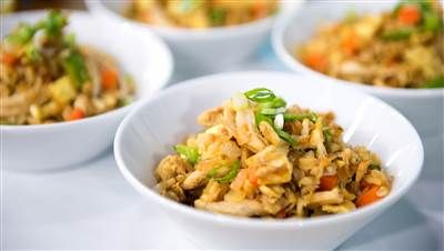 Here's how to make chicken fried rice a whole lot healthier