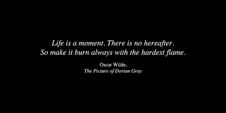 Oscar Wilde from The Picture of Dorian Gray