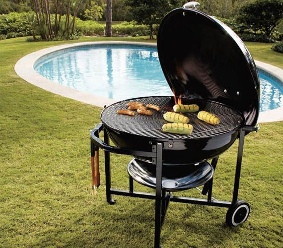 Weber Ranch Kettle Charcoal Grill Charcoal Grill Weber Charcoal