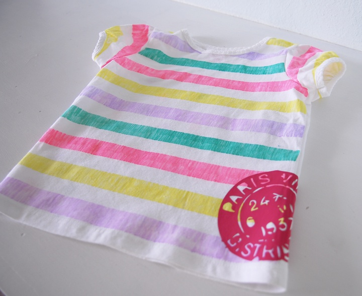 T Shirts Crafts, Dots Tees, Taylors Crafts, Markers, Crafts Projects, Plain Tees, Stripes Tees, Diy, Strips Tees