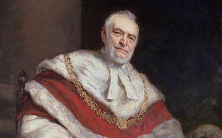 Portrait of Christopher Palles, by Sir Hubert von Herkomer