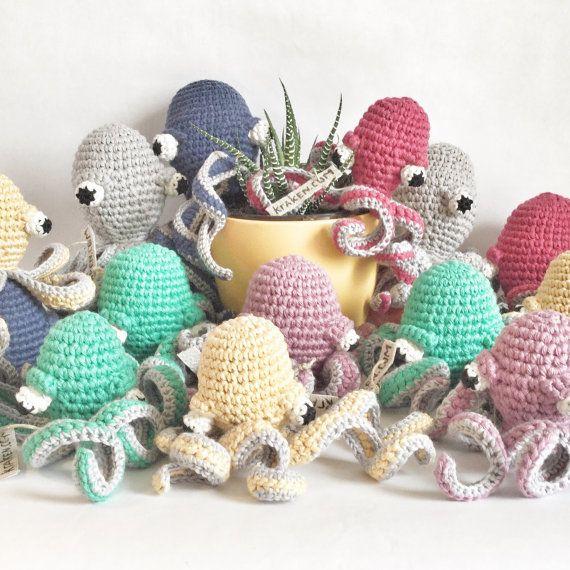 Handmade crochet amigurumi octopus/ squid /kraken от ZoZooCrochet