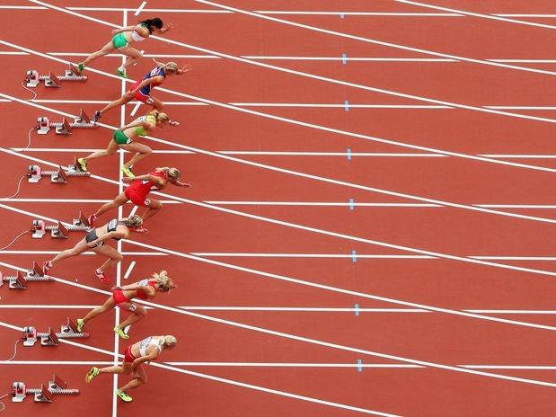 O Heptatlo de 100 m com barreiras - etapa de classificação (baterias) - abre o atletismo feminino dos Jogos de Londres nesta sexta-feira  Foto: Getty Images