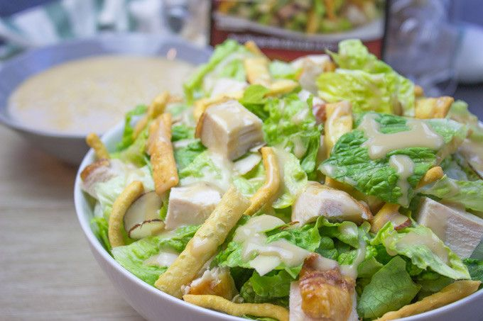 Asian Chicken Salad with Sesame Dressing (Costco Copycat ...