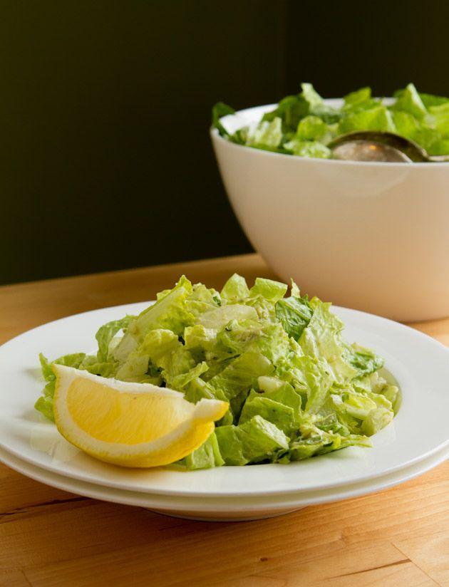 Quick & Easy Vegan Caesar Salad (uses 1 ripe avocado)