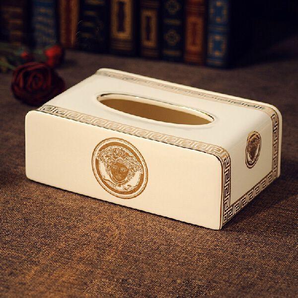 Caixa de tecido Medusa europeu, Caixa de porcelana de jóias(China (Mainland))
