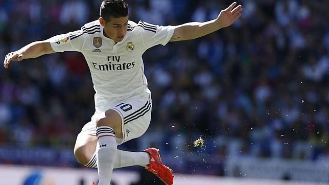 James Rodriguez regresa   abril 5, 2015