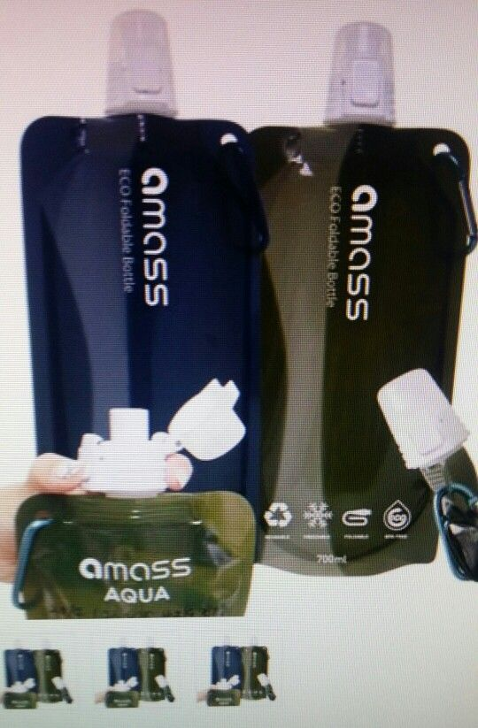 amass foldable bottle