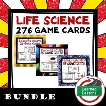 Life Science 276 I Have Who Has Game Cards BUNDLE