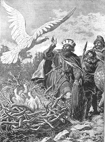 Lech, Czech, Rus and the White Eagle, as painted by Walery Eljasz-Radzikowski (1841–1905). Lech, Čech (or Czech), and Rus are three legendary brothers who founded three Slavic nations: Lechia (Poland), Czechia (Bohemia, Moravia, Silesia; thus the modern Czech Republic), and Ruthenia (Rus', modern Russia, Belarus, and Ukraine). There are multiple versions of the legend, including several regional variants that mention only one or two of the brothers.
