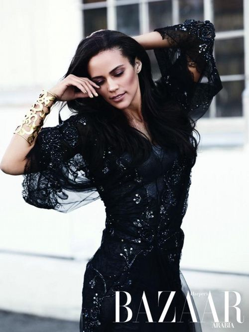 Paula Patton for Harper's Bazaar Arabia