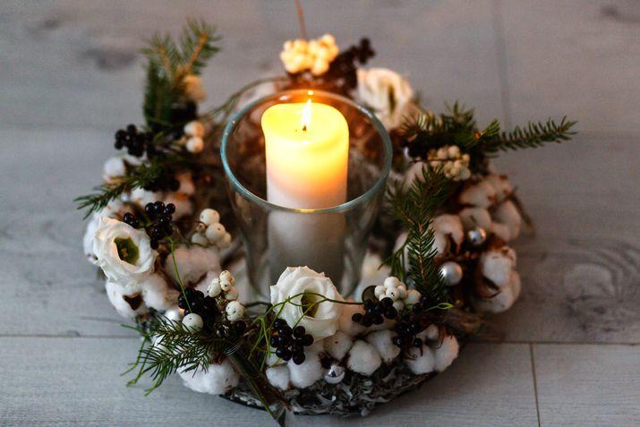 Новогодний декор из подручных средств: идеи флористов
