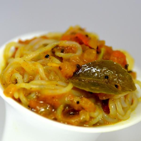 Spaghetti de Konjac à l'indienne   Konjac
