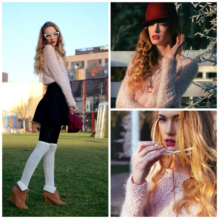 Rose quartz  #fashion #fashionblogger #makeup #pinkeyes #pink #softpink #catears #hatears #marsala #rosequartz #colours2016 #fashionista #outfit #jinglebells #winteroutfit #fairy #hat #winter #ootd